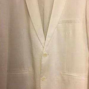 Alfani white sport jacket, XL (46R)